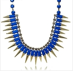 Luxury Spike Gemstone Necklace