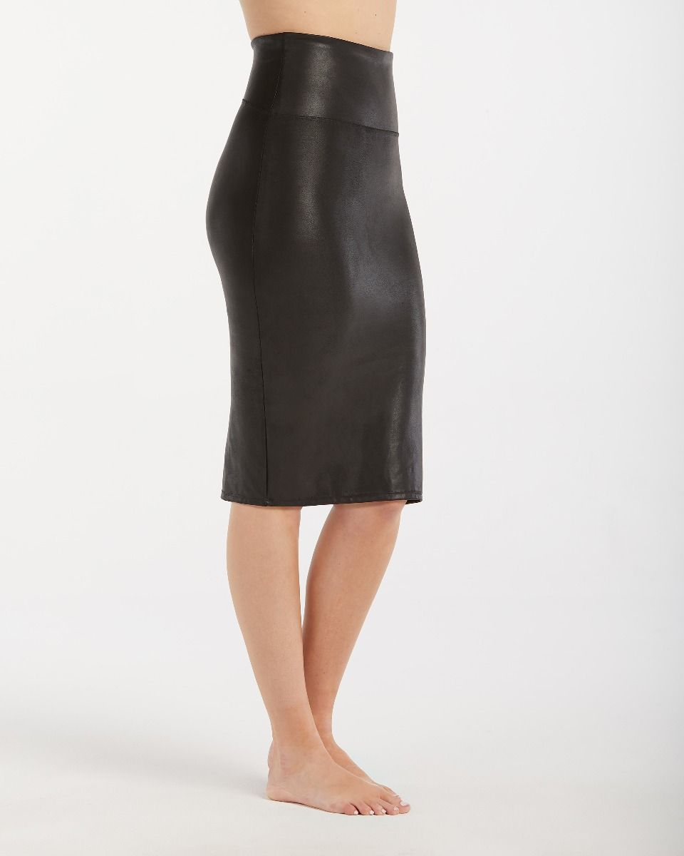 05788d570a Home > Apparel > Faux Leather Pencil Skirt
