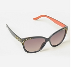 Metal Studded Coloured Sunglasses