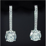 Luxury Cubic Drop Earring
