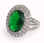 Royal Kate Ring In Green