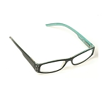 BOLÉRO Pastel & Black Rhinestone Reading Glasses