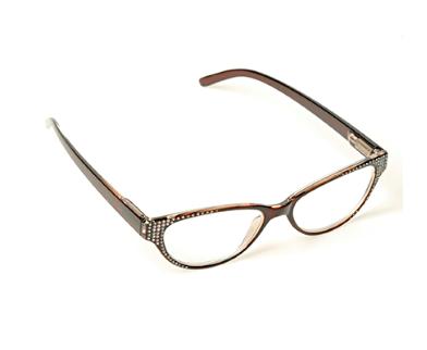 Large Framed Cat Eye Reading Glasses : Bolero Ladies Cat Eye Framed Reading Glasses