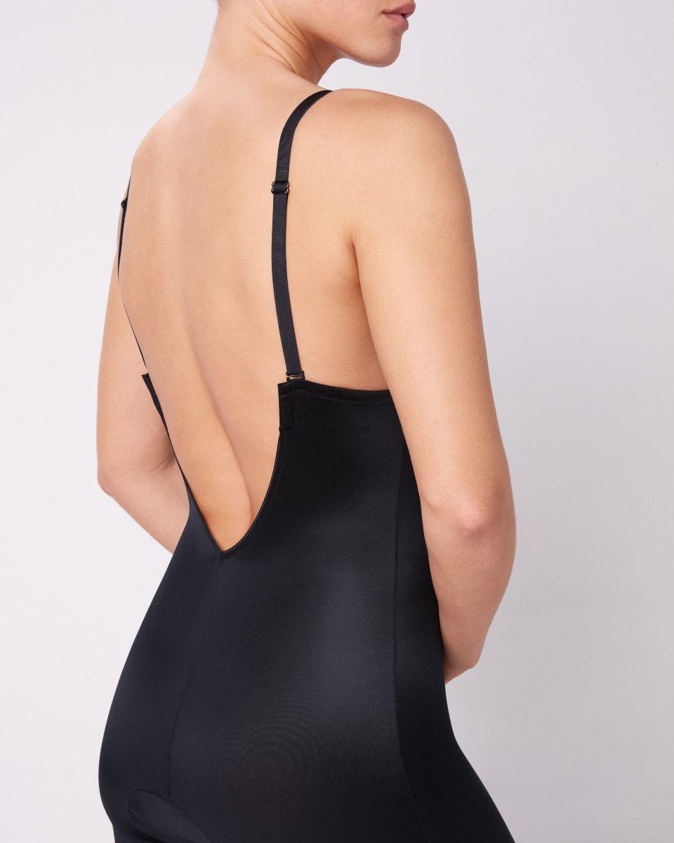0e08db7303b Suit Your Fancy Plunge Low-Back Mid-Thigh Bodysuit