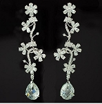 Luxury Cubic Flower Earring
