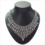 Rich Crystal Round Necklace
