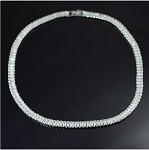 Luxury Cubic Zirconia Tennis Necklace