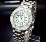 Designer Look Fancy Crystal Watch