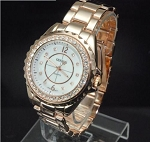Trendy Designer Look Large Face Ceramic Watch