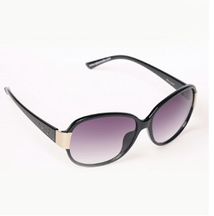 Boléro Gold Clip Ladies Polarized Sunglasses