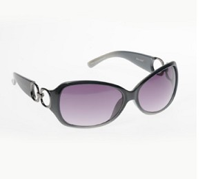 Boléro Metal Link Temple Sunglasses