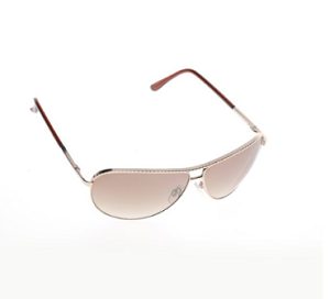 Boléro Oversized Metal Aviator Sunglasses