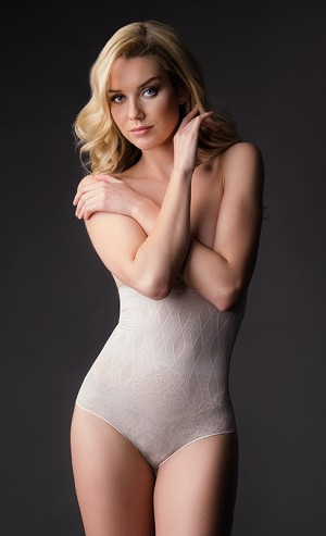 BODY HUSH MAGNIFIQUE Collection - THE ICÔNE High Waist Panty