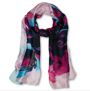 Silk Feeling Scarves