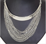 Shiny Chain Drop Necklace