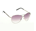 Double Brided Metal Aviator Sunglasses