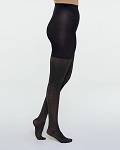 Metallic Shimmer Mid-Thigh Shaping Tights