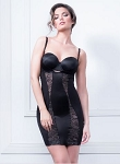 BODY HUSH GLAMOUR Slenderizing Lace Slip - OUR SOLUTION IS YOUR SECRET