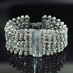 Luxury 7 Row with Big Cubic Bracelet