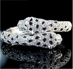 Luxury Crystal Leopard Bracelet