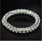 Rich Crystal Stretch Bracelet