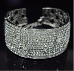 Rich Full Crystal Bangle Bracelets