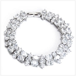 Luxury Bracelet with Cubic Zirconia