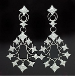 Luxury Cubic Fine Drop Earring