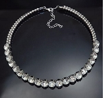 Luxury Rich Crystal Choker Necklace
