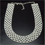 Luxury Full Crystal Rounded Necklace