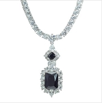 Luxury Cubic Party Necklace