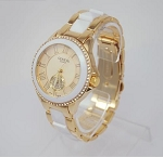 Trendy Crystal Round Watch
