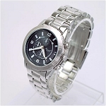 Round Face Metal Fashion Watch