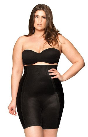 BODY HUSH GLAMOUR Most Wanted Thigh Control High Waisted Short - OUR SOLUTION IS YOUR SECRET