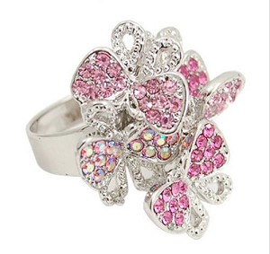 3 Tone 6 Butterfly Ring - Sold In-Store Only