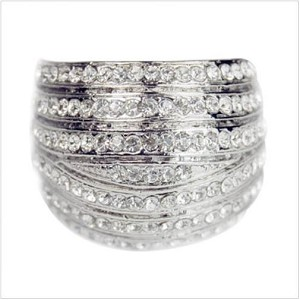 Crystal Lines Ring - Sold In-Store Only