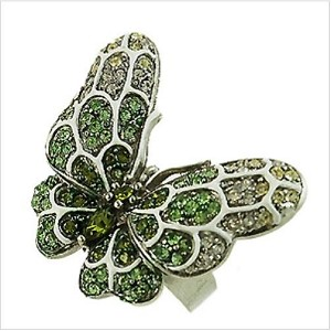 Green Stone Butterfly Ring - Sold In-Store Only