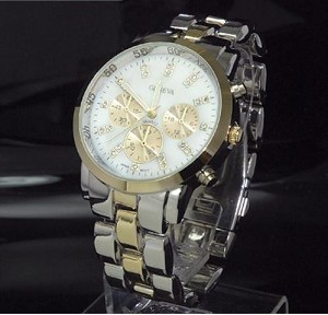 Trendy Designer Look Large Face Fashion Watch